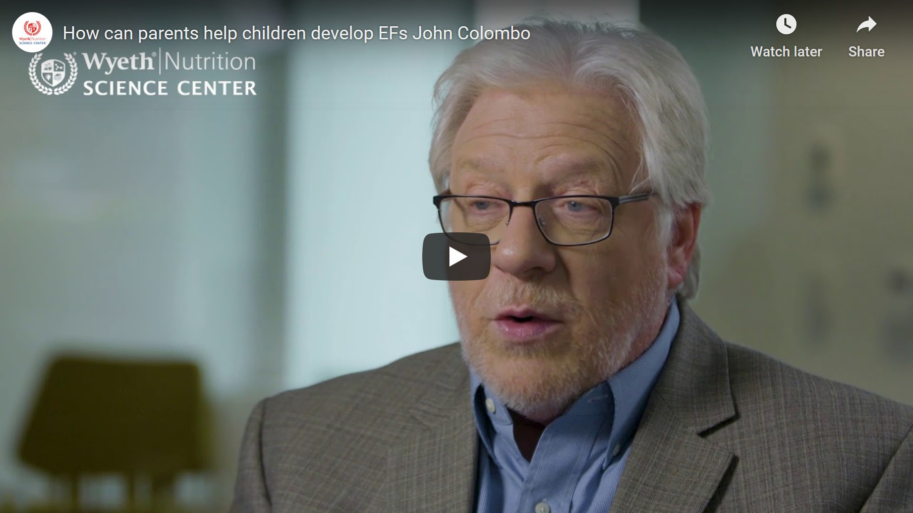What is normal executive function development - Prof. John Colombo