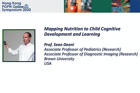 Mapping nutrition to child cognitive development and learning – Prof. Sean Deoni