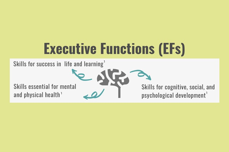 Infographic – Executive Functions (EFs)