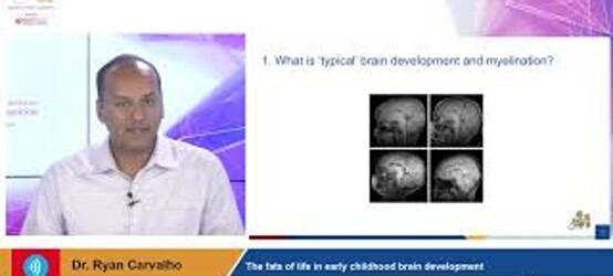 The fats of life in early childhood brain development Live session with Dr. Ryan Carvalho 31Oct 2019